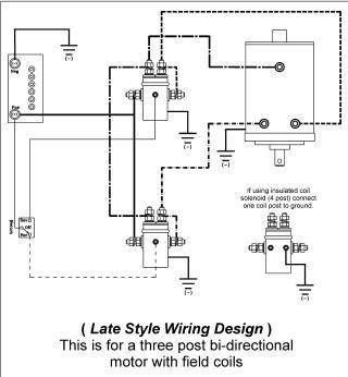 where to find ramsey bidirectional winch motor wiring ... winch 12 volt relay wiring diagram